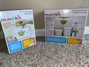 wipe warmer and diaper organizer for Sale in Antioch, CA
