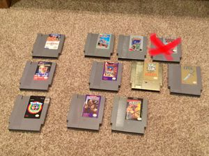 Nintendo (NES) Game Lot - Zelda, Castlevania, Willow, Chip N Dale *PRICES VARY* for Sale in San Antonio, TX