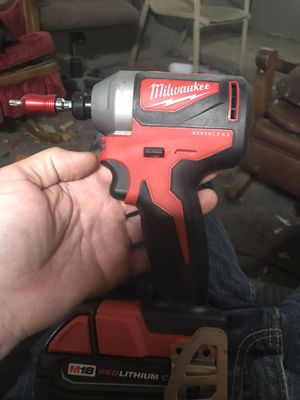 Milwaukee Brushless Drill, Battery, Charger and Bag for Sale in North Highlands, CA