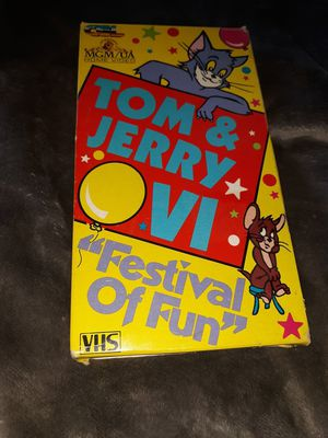 Tom & jerry VI vhs for Sale in Rapid City, SD