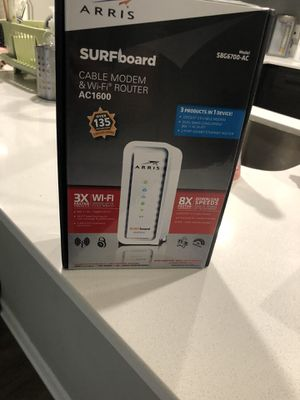 Modem and WiFi router for Sale in Kansas City, MO