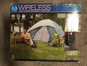 Wireless Electric Pet Fence Containment System for Sale in Winter Garden, FL