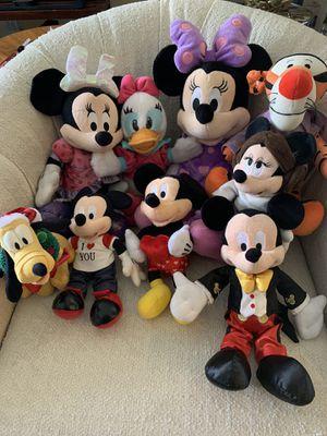 Disney stuff animals (9) $15 for Sale in Fort Lauderdale, FL