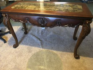 Marble Console table for Sale in Dearborn Heights, MI