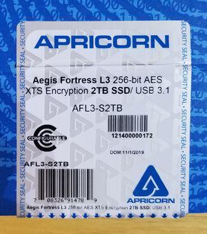 Apricorn Aegis 2 TB External SSD for Sale in Winchester, VA