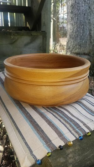 Hand-carved Wooden Bowl from Mckean, Thailand for Sale in Fairfax, VA