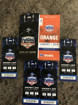 Fiesta Bowl Tickets for Sale in Fort McDowell, AZ