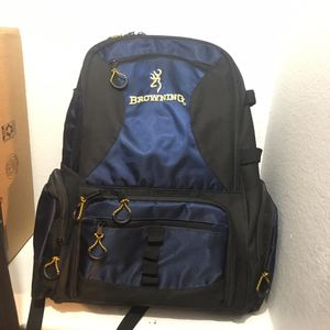 Browning Fishing Tackle Backpack for Sale in Grand Prairie, TX