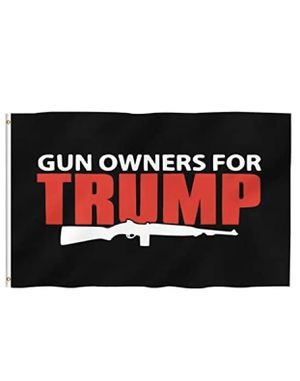 Order 1 - gun owners, vinyl stickers, Trump flag for Sale in Pompano Beach, FL