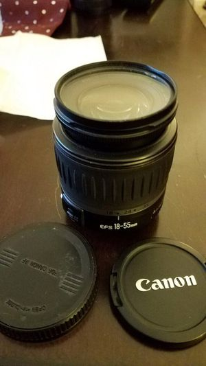 Cannon EF-S 18-55mm lens (as is) for Sale in Bailey's Crossroads, VA