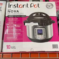 Instant Pot - Duo Nova 10 Quart Pressure Cooker - New/Open Box - 2 Available for Sale in Santa Ana,  CA