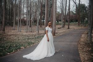 Wedding Dress with overskirt for Sale in Fairfax, VA