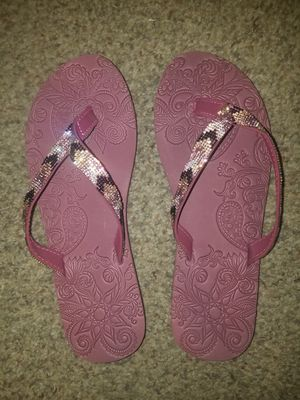 9.5 Pink Sandles for Sale in Wichita, KS
