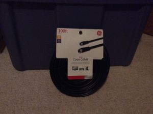100ft coax cable for Sale in Vancouver, WA
