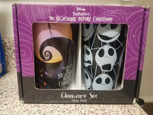 Nightmare before Christmas Jack Skellington cups for Sale in Lewisville, TX