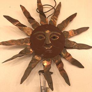 Copper sun wind chime for Sale in Phoenix, AZ