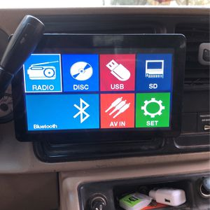 """Touchscreen Stereo Sound stream 12""""in for Sale in Houston, TX"""