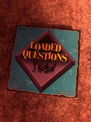 Loaded questions board game for Sale in Penn Hills, PA