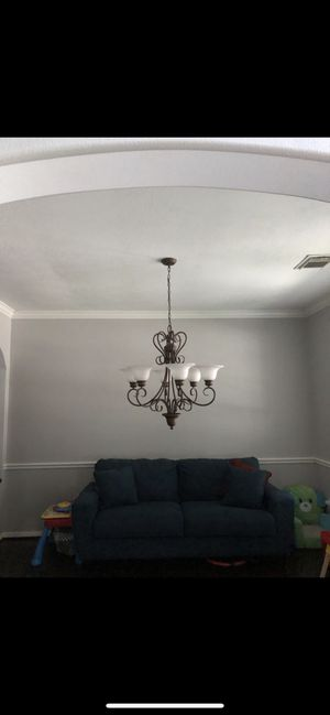 Bronze Chandelier for Sale in Pearland, TX