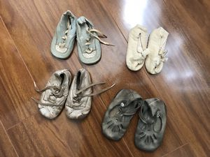 Lot of antique baby shoes for Sale in Santa Monica, CA