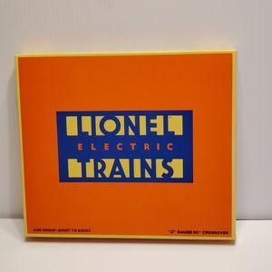 Lionel O Gauge 90 Degree Crossover 6-5540 New in Box Sealed box @1986 Lionel. for Sale in Saratoga, CA