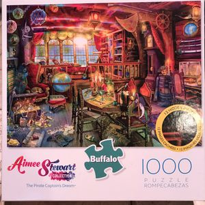 NEW!!! 1000 Piece Puzzle THE PIRATE CAPTAIN'S DREAM for Sale in Torrance, CA