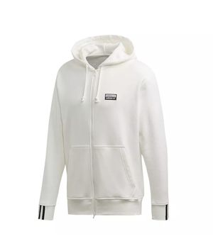 Adidas Men Vocal Full-Zip Jacket Hoodie White for Sale in Westbury, NY