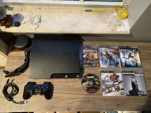 Ps3 console and bundle for Sale in Homestead, FL