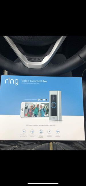 Ring doorbell pro for Sale in US