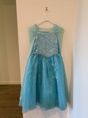 Elsa Disney costume 9/10 years for Sale in Gilbert, AZ