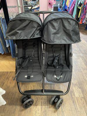 Zoe lightweight double twin baby stroller for Sale in Phoenix, AZ