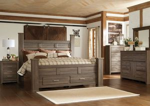 Queen Bed, Dresser, mirror & N. Stand. $988 for Sale in Snellville, GA