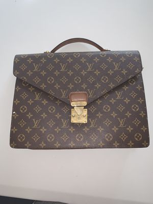 Louis Vuitton monogram porte documents bag for Sale in Buena Park, CA