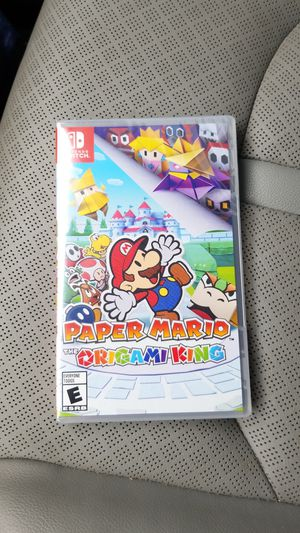 Paper Mario Origami King (brand new) for Sale in Albuquerque, NM