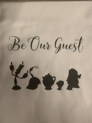 Be our guests kitchen towel for Sale in La Habra, CA