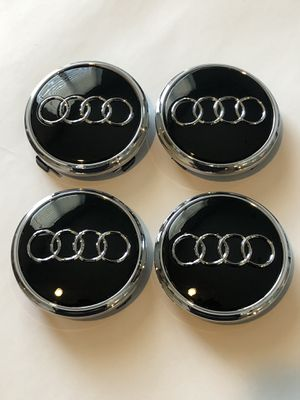 "Audi Q7 Center Caps 77mm 3"" New Wheel Rim Cap Black for Sale in Scottsdale, AZ"