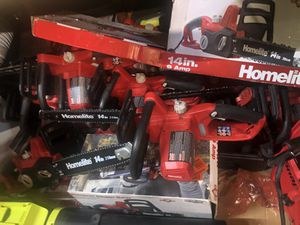 Homelite 14in chainsaws for Sale in Irving, TX
