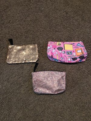 Need a makeup bag? All 3 bags come together. for Sale in Cullman, AL