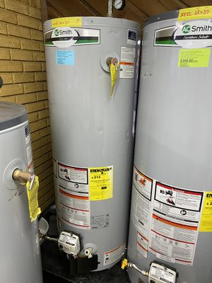 "LIKE NEW 40 GALLONS AOSMITH ELECTRIC WATER HEATER 9 20""x 58"" 90days warranty garantia por escrito for Sale in Dallas, TX"