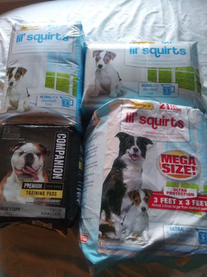 PUPPY PADS..SEE PHOTOS 4 TOTAL PACKS for Sale in Edgemoor, DE