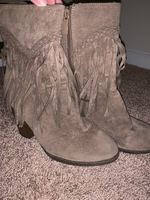Fringe boots, size 8 for Sale in Austin, TX