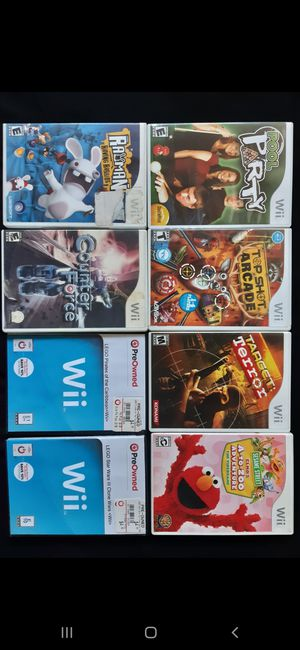 Wii Game Bundle for Sale in Los Angeles, CA