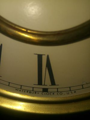 """Antique Waterbury Clock dated early 1900""""s for Sale in Tacoma, WA"""