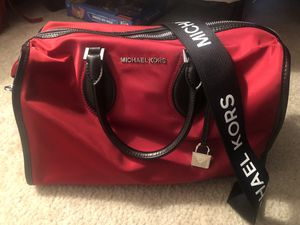 Red and Black Michael Kors Tote for Sale in Boyds, MD