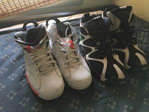 Used air Jordan 6 and reebok kamakazi size 10.5 for Sale in Alexandria, VA