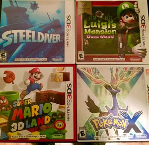3Ds & Ds game bundle for Sale in Temple, GA