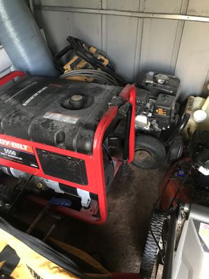 Troybuilt 5500 Watt Generator for Sale in Orlando, FL