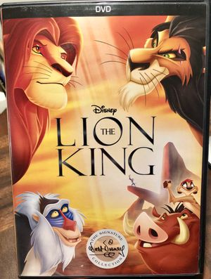 Disney Lion King DVD for Sale in Portland, OR