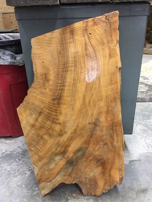 Curly Ash Slab for Sale in Bethel, PA