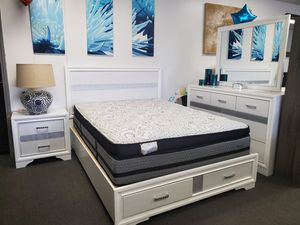 QUEEN BEDROOM SET (RECAMARA) for Sale in Los Alamitos, CA